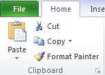 The Microsoft Office Clipboard