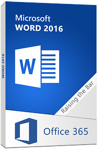 Word 2016 training courses